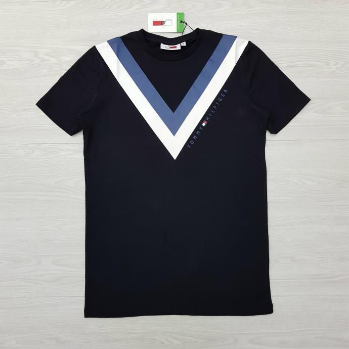TOMMY HILFIGER Mens T-Shirt (BLACK) (S - M - L - XL)
