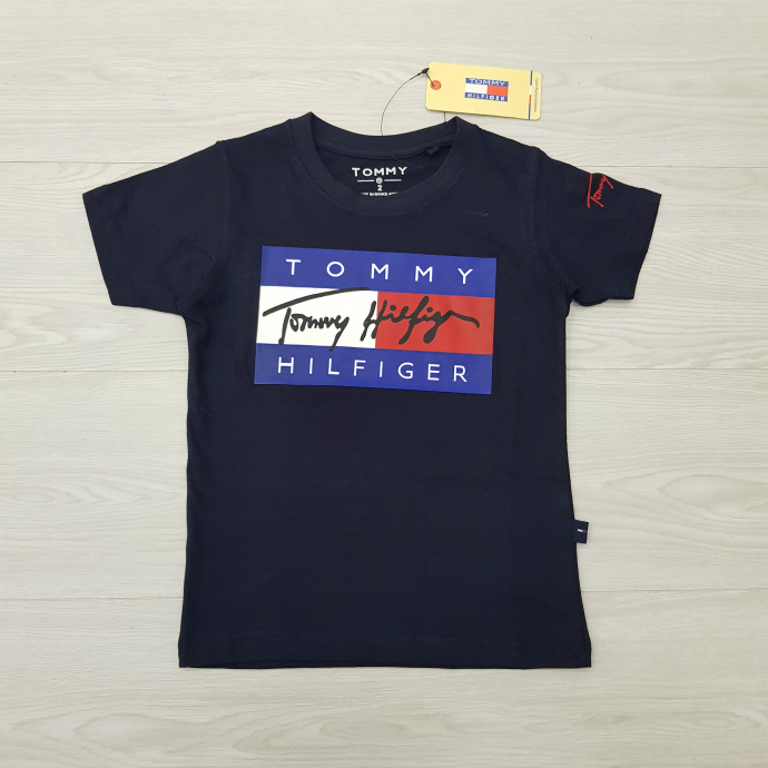 TOMMY HILFIGER Boys T-Shirt (NAVY) (2 to 16 Years)