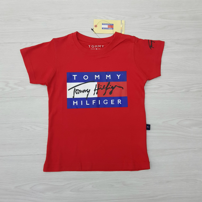 TOMMY HILFIGER Boys T-Shirt (RED) (2 to 12 Years)