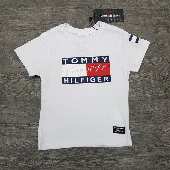 TOMMY HILFIGER Boys T-Shirt (WHITE) (1 to 10 Years)