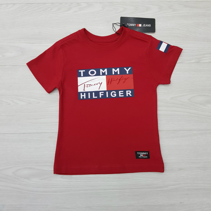 TOMMY HILFIGER Boys T-Shirt (RED) (1 to 10 Years)