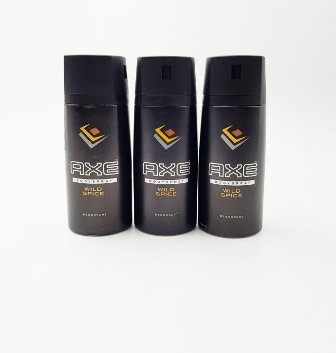 AXE 3 PCS Body Spray Deodorant (150ML)(MOS)