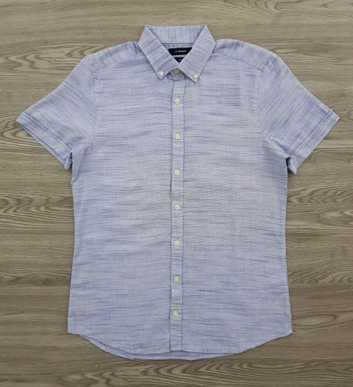 LC WAIKIKI Mens Sleeve Shirt (LIGHT BLUE) (S - M - L - XL - 2XL - 3XL)