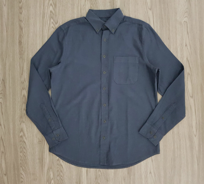 LC WAIKIKI Mens Sleeve Shirt (DARK GRAY) (S - XL - 2XL - 3XL)