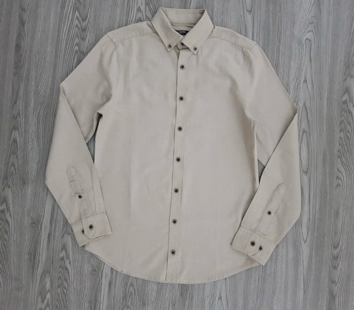 LC WAIKIKI Mens Sleeve Shirt (CREAM) (XS - S)