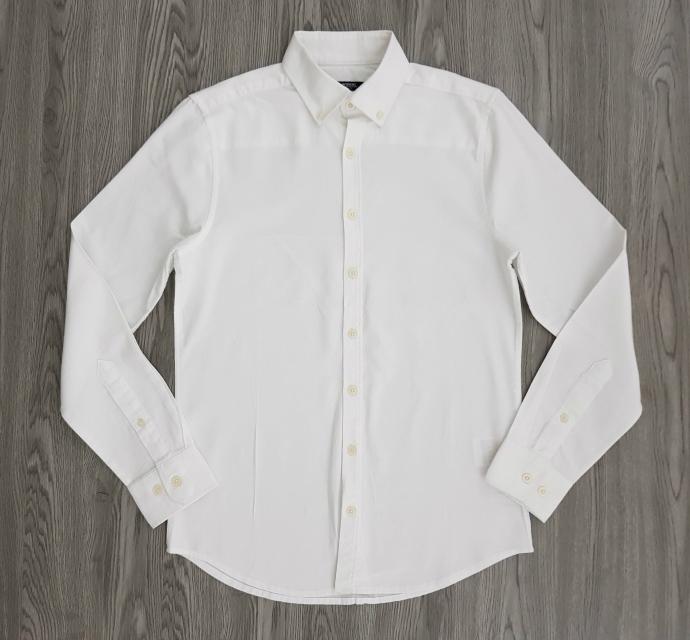 LC WAIKIKI Mens Sleeve Shirt (WHITE) (XS - XL - 3XL)