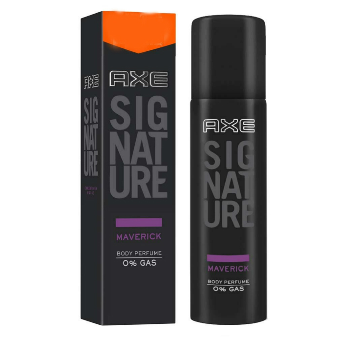 AXE Signature Maverick Deo Body Spray Perfume 122ml (Exp: 12.2022) (K8)