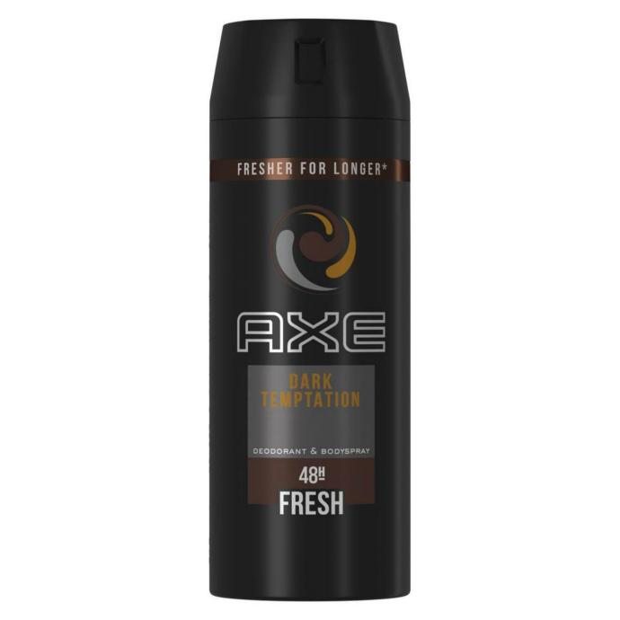 AXE Deo Dark Temptation 48H Fresh Body Spray 150ml (Exp: 1.2023) (K8)