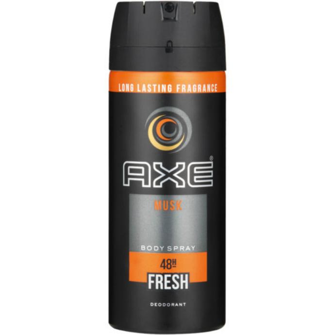 AXE Musk Body Spray Deodorant 150ml (Exp: 6.2023) (K8)