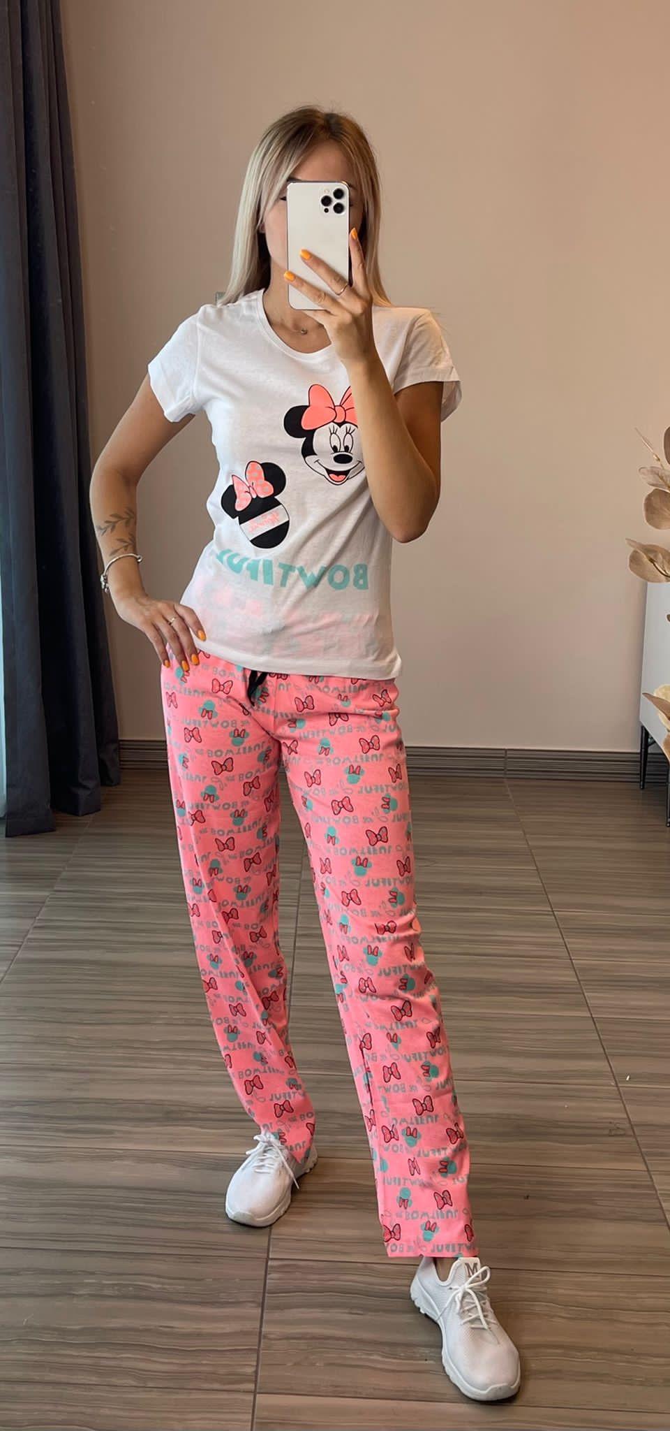 Ladies 2 Pcs Pyjama Set