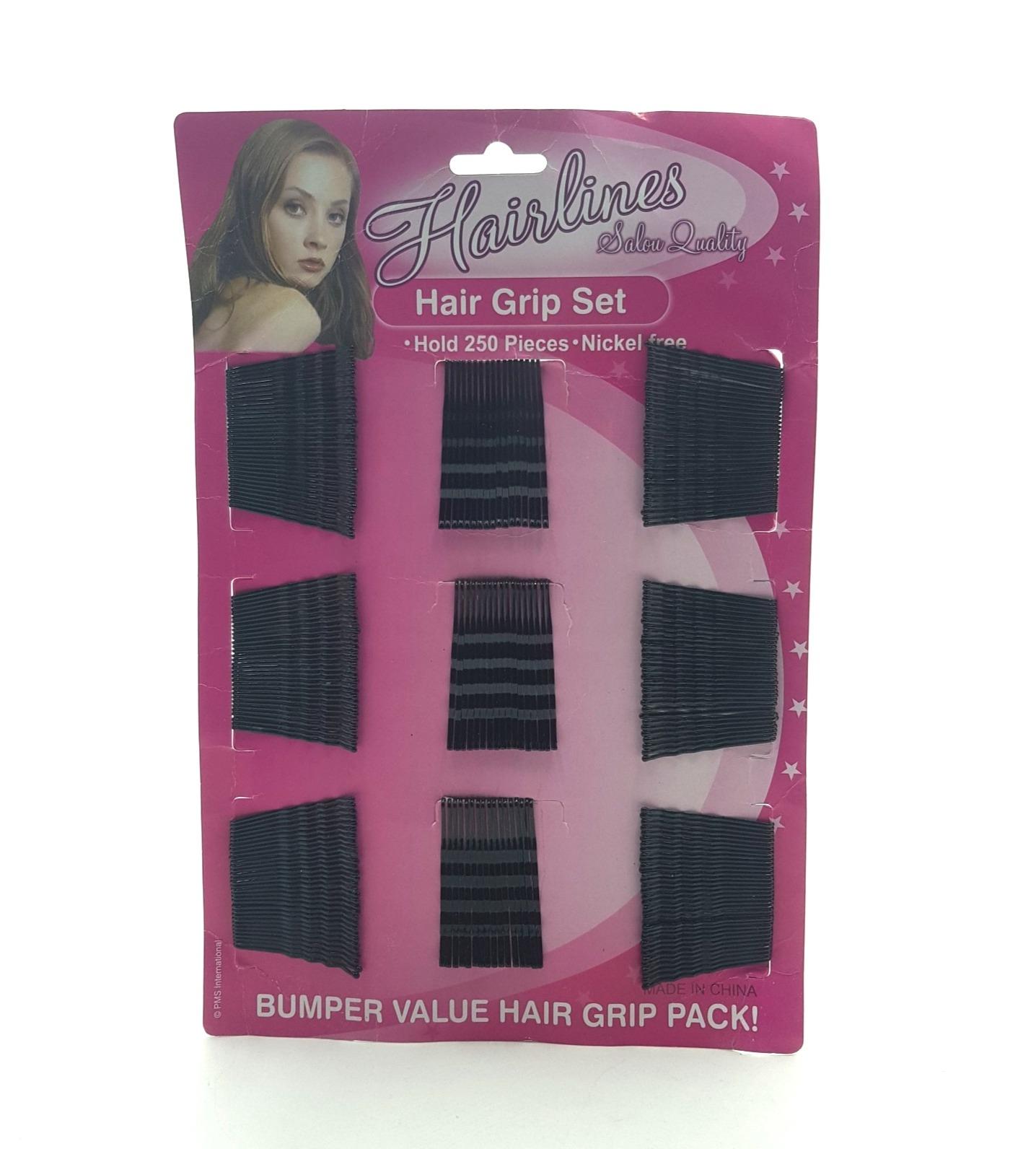 250 Pcs Bumper Value Hair Grip Pack