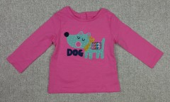 Girls Long Sleeved T-shirt (3 to 24 Months)