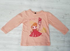 ANS Girls Long Sleeved Shirt (2 to 6 Years)