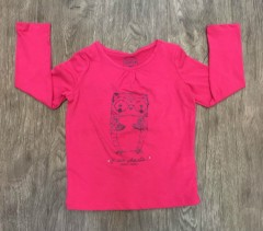 PM Girls Long Sleeved Shirt (PM) ( 2 to 11 Years )