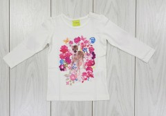 IMPIDIMPI Girls Long Sleeved Shirt (9 Months to 6 Years)