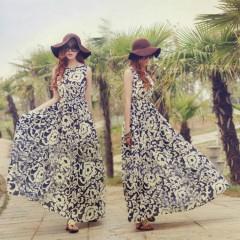 LUX New Luxury Fashion New Plus Size Womens Summer Dress
