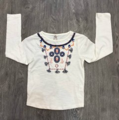 PM Girls Long Sleeved Shirt (PM) ( 6 to 8 Years )