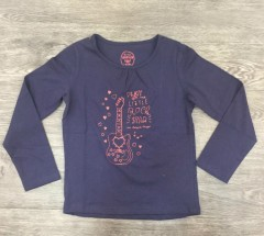 PM Girls Long Sleeved Shirt (PM) (3 to 11 Years)