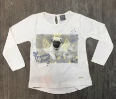 PM Girls Long Sleeved Shirt (PM) (6 Months to 2 Years)