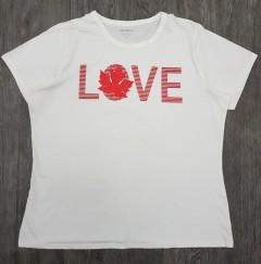 JOE FRESH Ladies T-Shirt (WHITE) (1XL  - 2XL - 3XL)