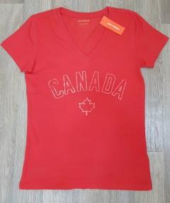 JOE FRESH Ladies T-Shirt (RED) (XS - L)