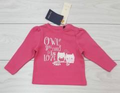 Girls Long Sleeved Shirt (PINK) (LP) (FM) (9 to 24 Months)
