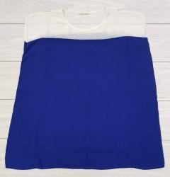 LA CHAPELLE Ladies Dress (BLUE - WHITE) (LC) (S - M)