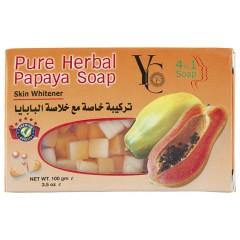 YC YC Pure Herbal Papaya Soap (Mos)