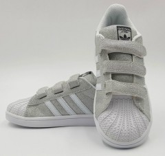 ADIDAS Girls Sneaker Shoes (GRAY) (MD) (28 to 35 EUR)