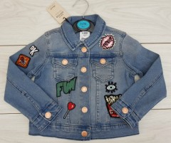 Girls Jacket (BLUE) (FM) (3 to 7 Years)