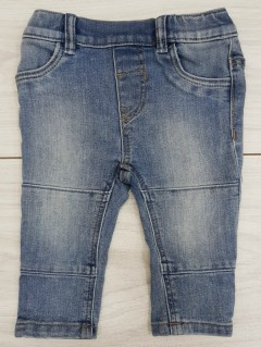 Girls Jeans (BLUE) (FM) (4 Months to 2 Years)