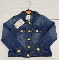 Girls Jacket Jeans (DARK BLUE) (FM) (2 to 8 Years)