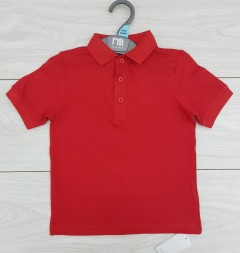 Boys Polo Shirt (RED) (FM) (12 Months to 5 Years)