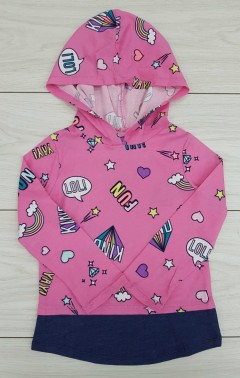 Girls Long Sleeved Shirt (PINK) (2 to 4 Years)