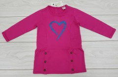 Girls Long Sleeved Shirt (PINK) (6 Months to 8 Years)
