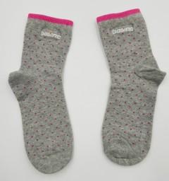 BOSINO Girls Socks (GRAY) (Free Size)