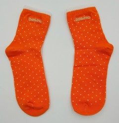 BOSINO Girls Socks (ORANGE) (Free Size)