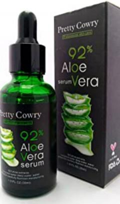 PRETTY COWRY 92% Aloe Vera Serum 30ml (MOS)