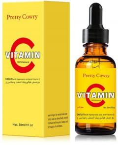 PRETTY COWRY Women's Vitamin C Serum Shrink Pores Moisture 30ml (MOS)