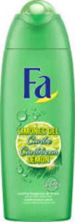 FA Caribbean Lemon Exotic Fresh Shower 250ml (MOS)