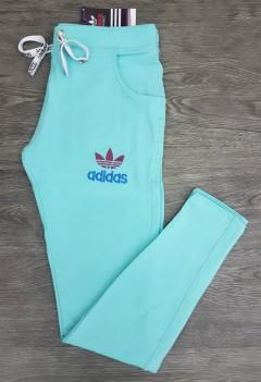 ADIDAS Ladies Pants (BLUE - GREEN) (S - M - L - XL)