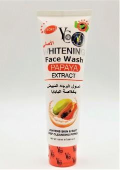 YC Whitening Face Wash with Papaya Extract 100 ml (MOS)