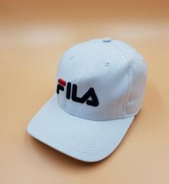 FILA Mens Cap (WHITE) (Free Size)