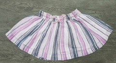 PALOMJNO Girls Cotton Skirt (WHITE) (2 to 8 Years)