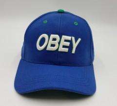 OBEY Mens Cap (BLUE) (Free Size)