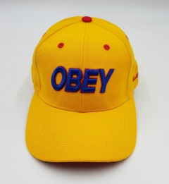 OBEY Mens Cap (YELLOW) (Free Size )