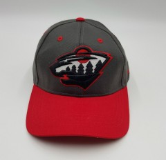 MITCHELL AND NESS Mens Cap (DARK GRAY - RED) (Free Size)