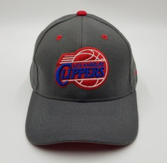LOS ANGELES CLIPPERS Mens Cap (DARK GRAY) (Free Size)
