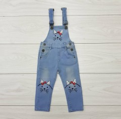 RED ROSE Girls Romper (BLUE) (1 to 6 Years)