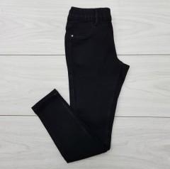 PLAMINO Girls Jeans (BLACK) (7 to 16 Years)